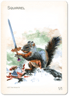 Squirrel Token (1/1) by Ken Meyer Jr. - Token - Original Magic Art - Accessories for Magic the Gathering and other card games