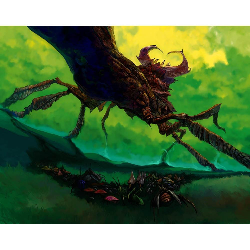 Stag Beetle Print - Print - Original Magic Art - Accessories for Magic the Gathering and other card games