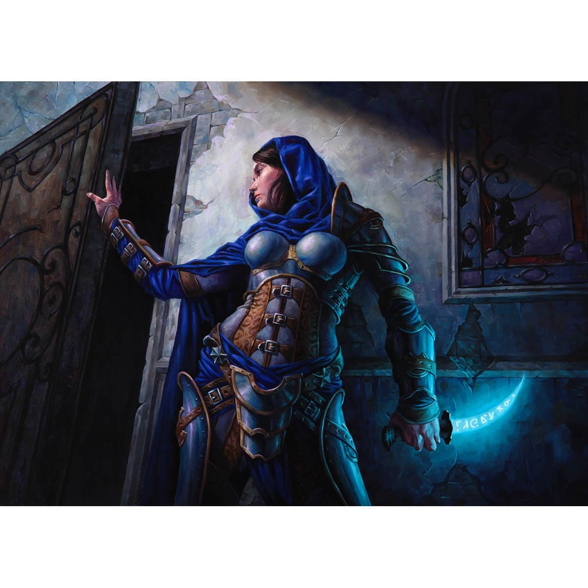 Stealer of Secrets Print - Print - Original Magic Art - Accessories for Magic the Gathering and other card games