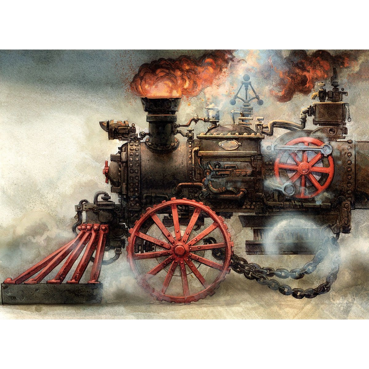 Steam-Powered Print