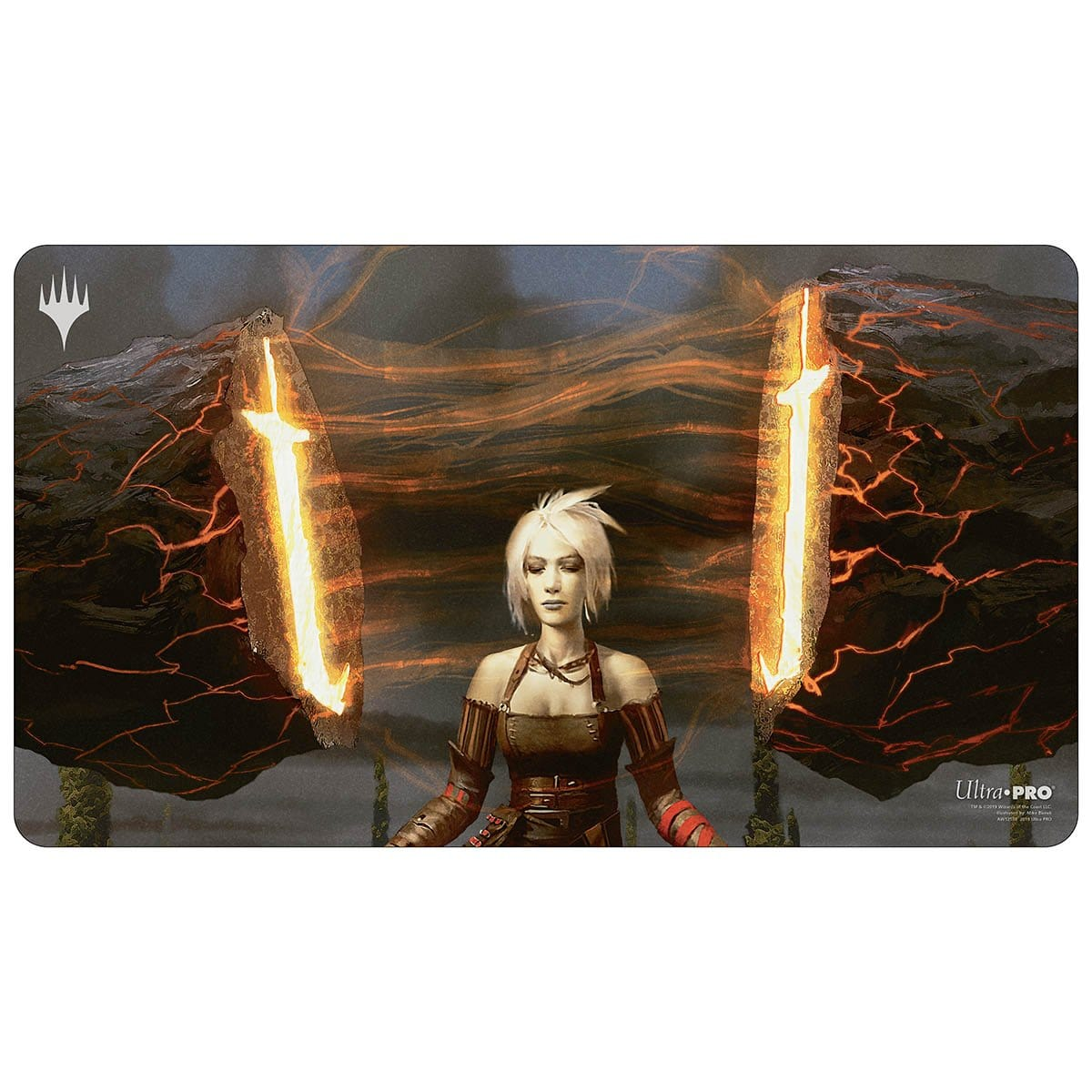 Stoneforge Mystic Playmat - Playmat - Original Magic Art - Accessories for Magic the Gathering and other card games