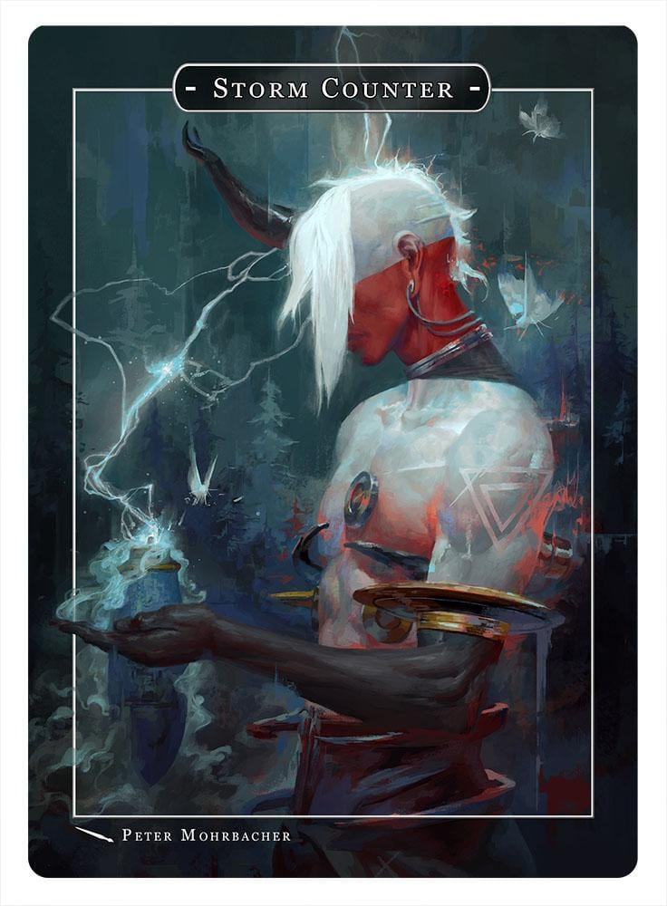 Storm Counter Token by Peter Mohrbacher