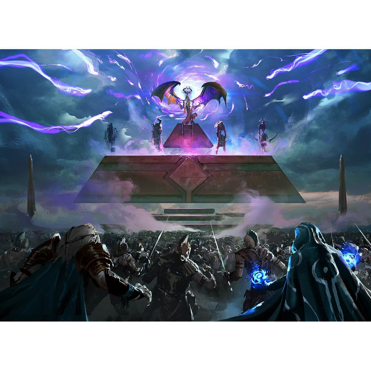 Storm the Citadel Print - Print - Original Magic Art - Accessories for Magic the Gathering and other card games