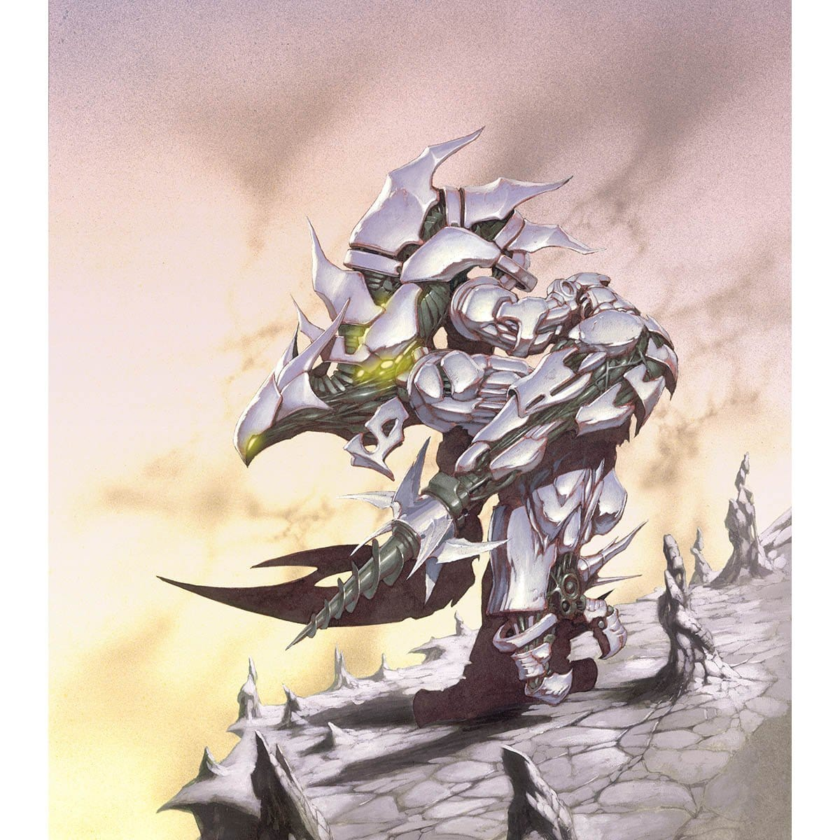 Sundering Titan Print - Print - Original Magic Art - Accessories for Magic the Gathering and other card games