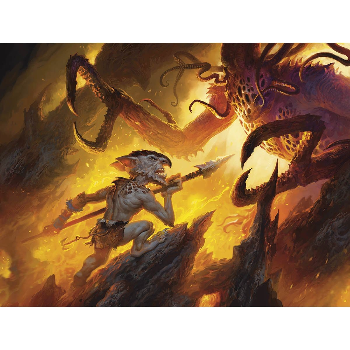 Sure Strike Print - Print - Original Magic Art - Accessories for Magic the Gathering and other card games