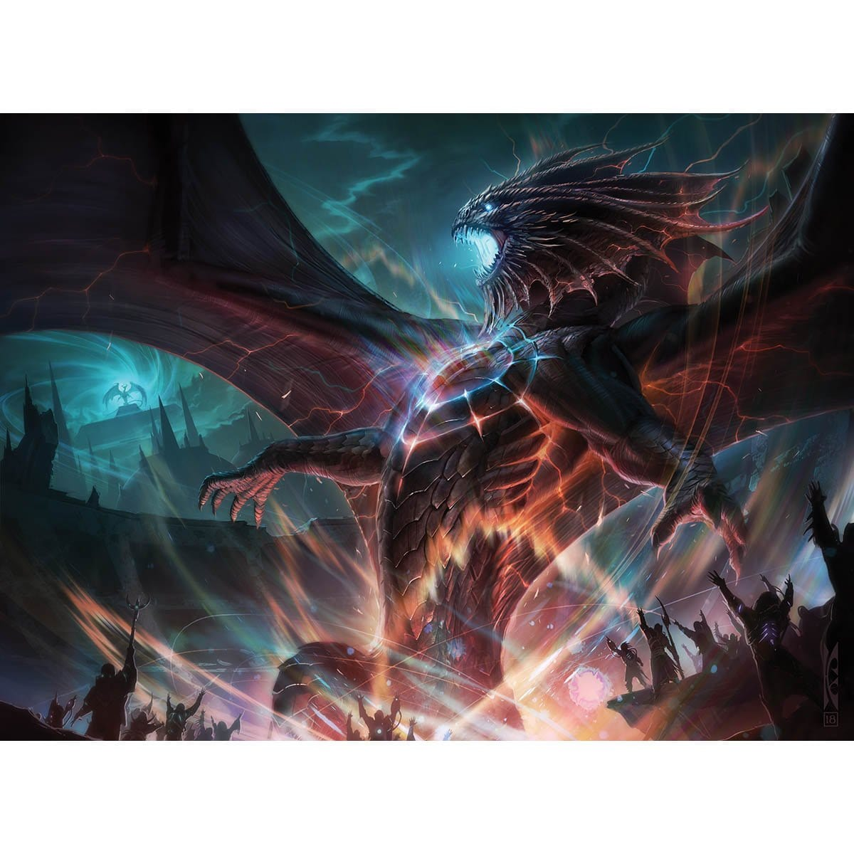 Niv-Mizzet, Reborn Print - Print - Original Magic Art - Accessories for Magic the Gathering and other card games
