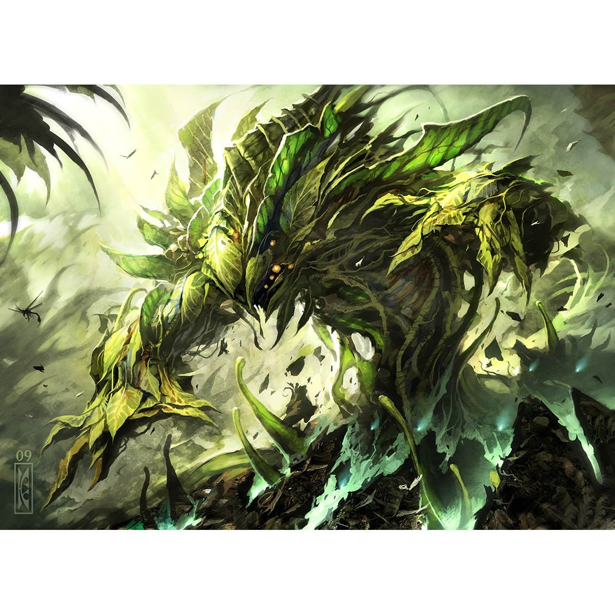 Vengevine Print - Print - Original Magic Art - Accessories for Magic the Gathering and other card games