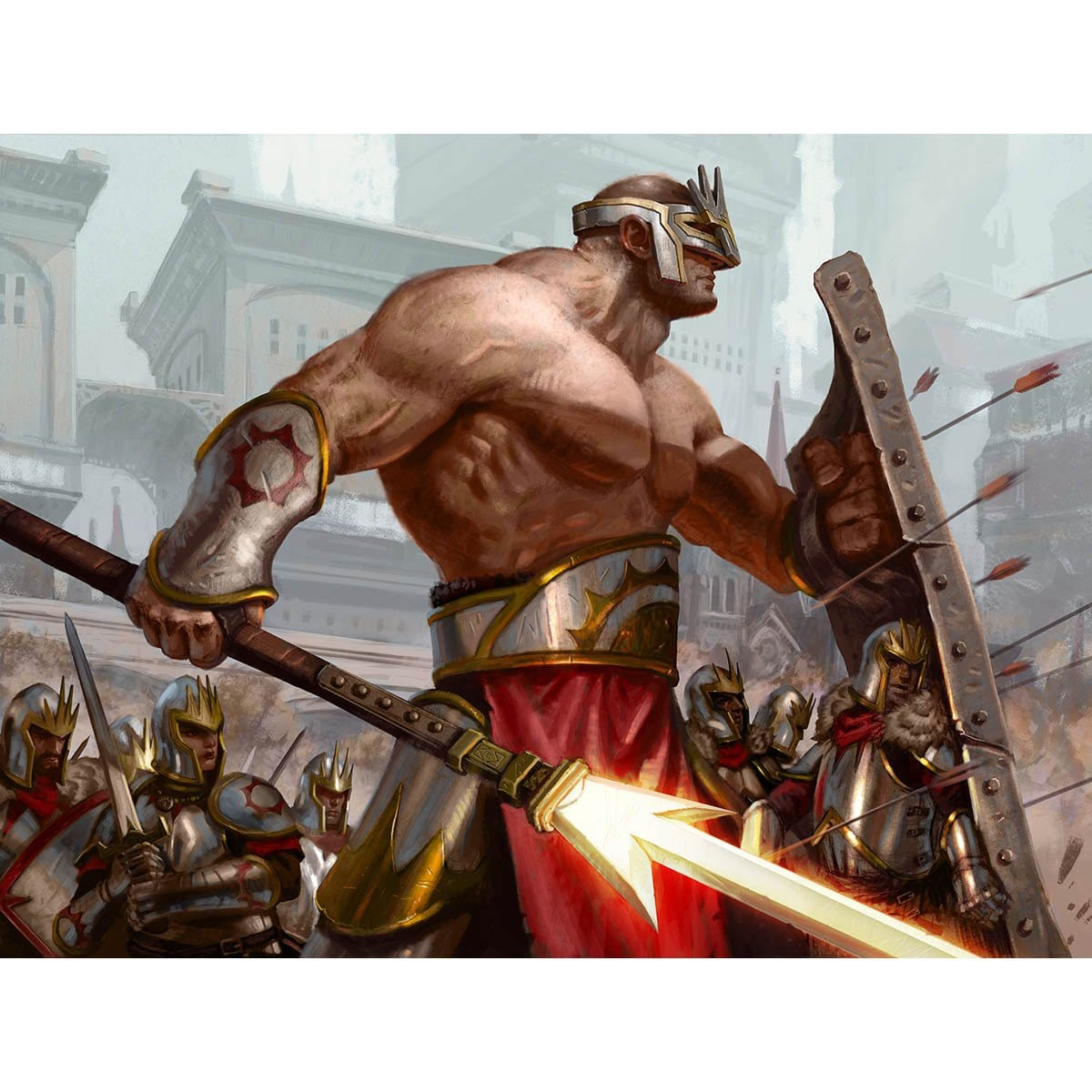 Swathcutter Giant Print - Print - Original Magic Art - Accessories for Magic the Gathering and other card games