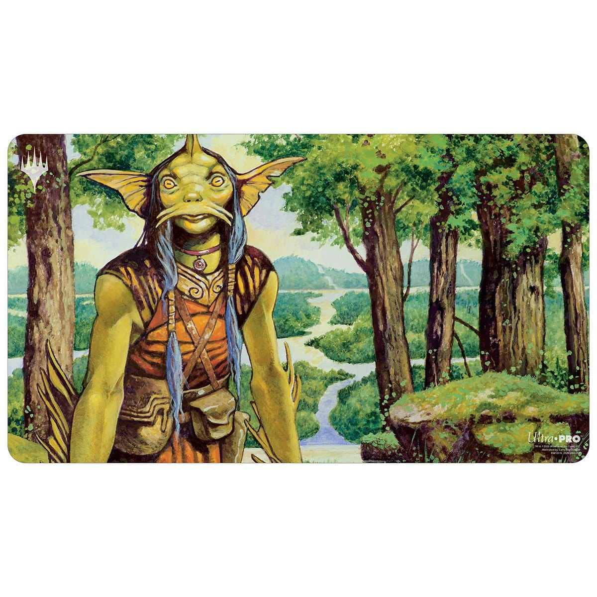 Sygg, River Guide Playmat