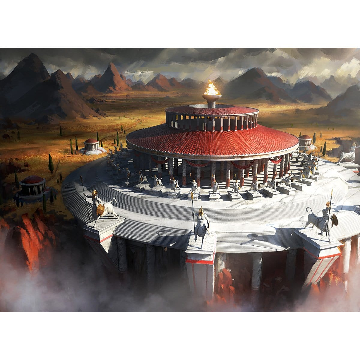 Temple of Triumph Print