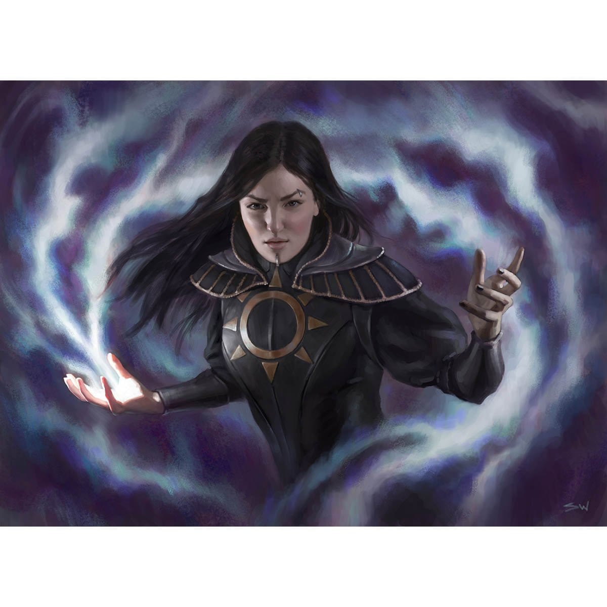 Teysa, Orzhov Scion Print - Print - Original Magic Art - Accessories for Magic the Gathering and other card games