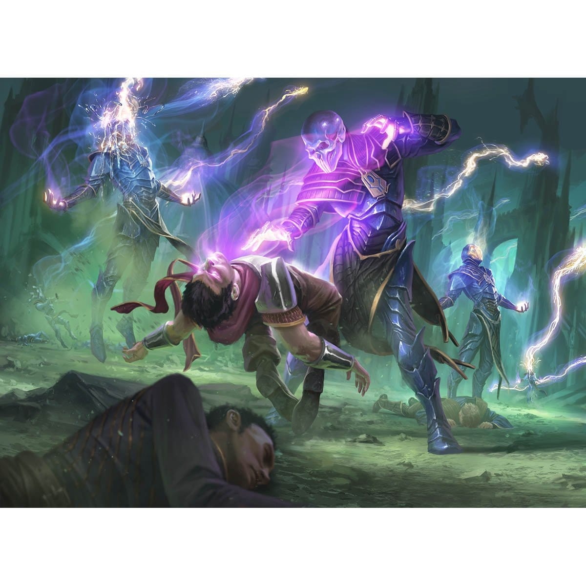 The Elderspell Print - Print - Original Magic Art - Accessories for Magic the Gathering and other card games