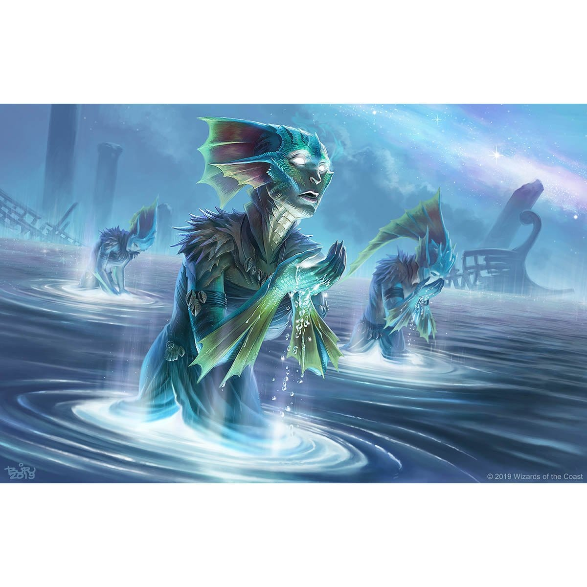 Thirst for Meaning Print - Print - Original Magic Art - Accessories for Magic the Gathering and other card games