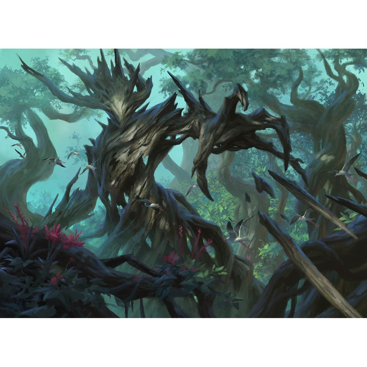 Thorn Elemental Print - Print - Original Magic Art - Accessories for Magic the Gathering and other card games