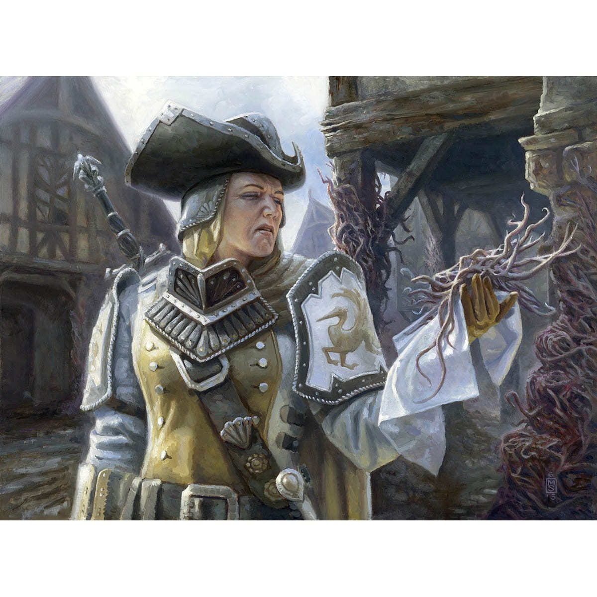 Thraben Inspector Print - Print - Original Magic Art - Accessories for Magic the Gathering and other card games