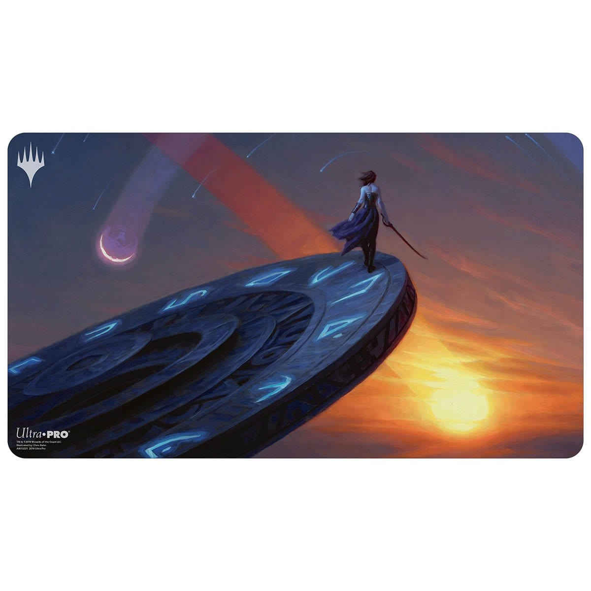 Time Walk Playmat - Playmat - Original Magic Art - Accessories for Magic the Gathering and other card games