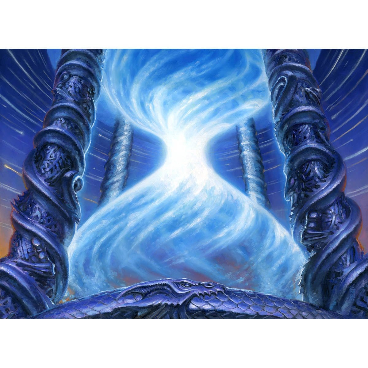 Timetwister Print - Print - Original Magic Art - Accessories for Magic the Gathering and other card games
