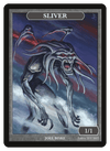 Sliver Token (1/1) by Joel Biske - Token - Original Magic Art - Accessories for Magic the Gathering and other card games