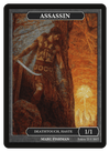 Assassin Token (1/1) by Marc Fishman - Token - Original Magic Art - Accessories for Magic the Gathering and other card games