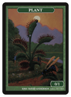 Plant Token (0/1) by Eric David Anderson - Token - Original Magic Art - Accessories for Magic the Gathering and other card games