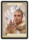 Monk Token (1/1 - Prowess) by Randy Gallegos - Token - Original Magic Art - Accessories for Magic the Gathering and other card games