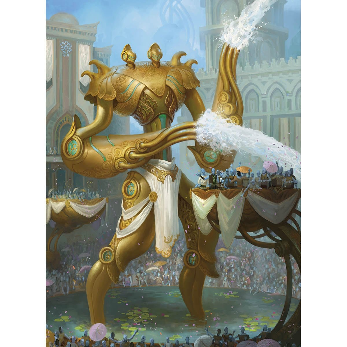 Torrential Gearhulk Print - Print - Original Magic Art - Accessories for Magic the Gathering and other card games