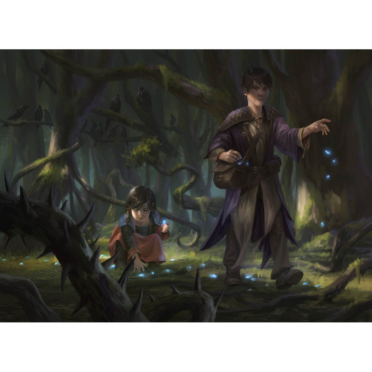 Trail of Crumbs Print - Print - Original Magic Art - Accessories for Magic the Gathering and other card games