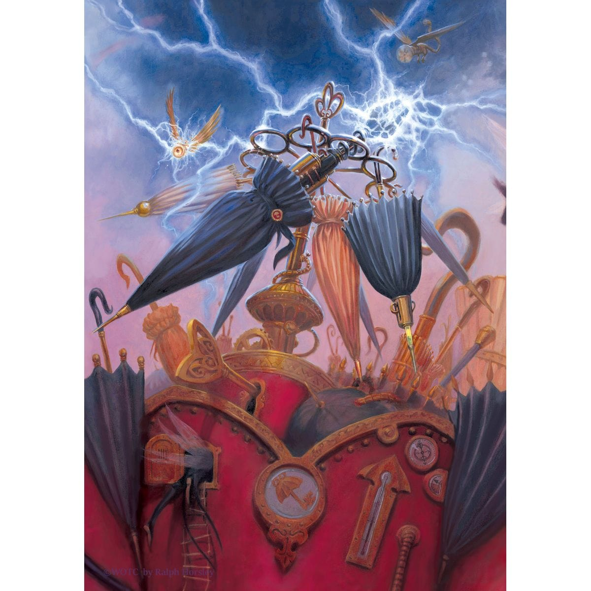 Twiddlestick Charger Print - Print - Original Magic Art - Accessories for Magic the Gathering and other card games