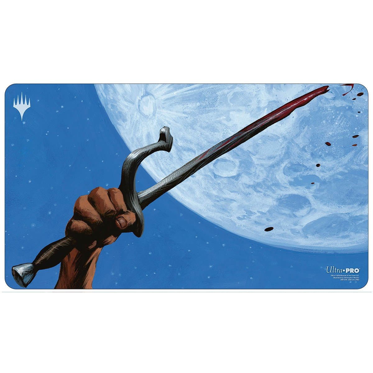 Umezawa's Jitte Playmat - Playmat - Original Magic Art - Accessories for Magic the Gathering and other card games