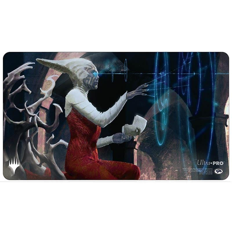 Varina, Lich Queen Playmat - Playmat - Original Magic Art - Accessories for Magic the Gathering and other card games