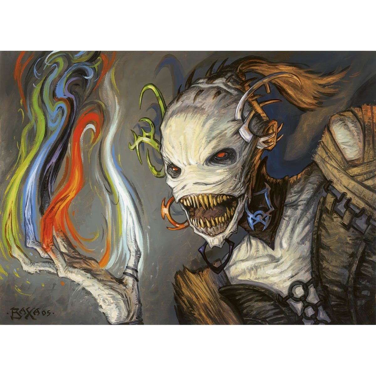 Vesper Ghoul Print - Print - Original Magic Art - Accessories for Magic the Gathering and other card games