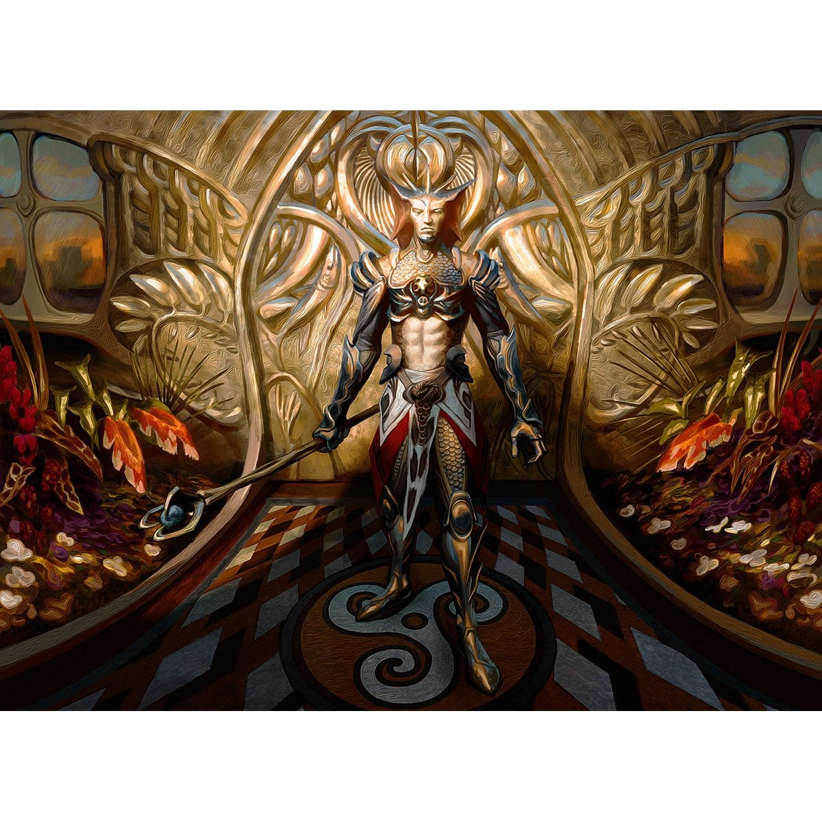 Vorel of the Hull Clade Print - Print - Original Magic Art - Accessories for Magic the Gathering and other card games