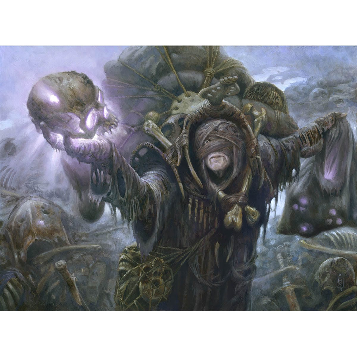 Waste Not Print - Print - Original Magic Art - Accessories for Magic the Gathering and other card games