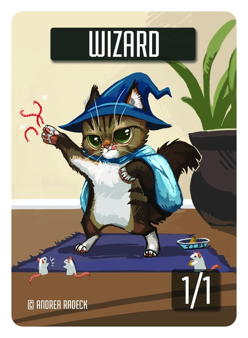 Wizard Token (1/1) by Andrea Radeck