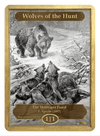 Wolves of the Hunt Token (1/1) by F. Specht