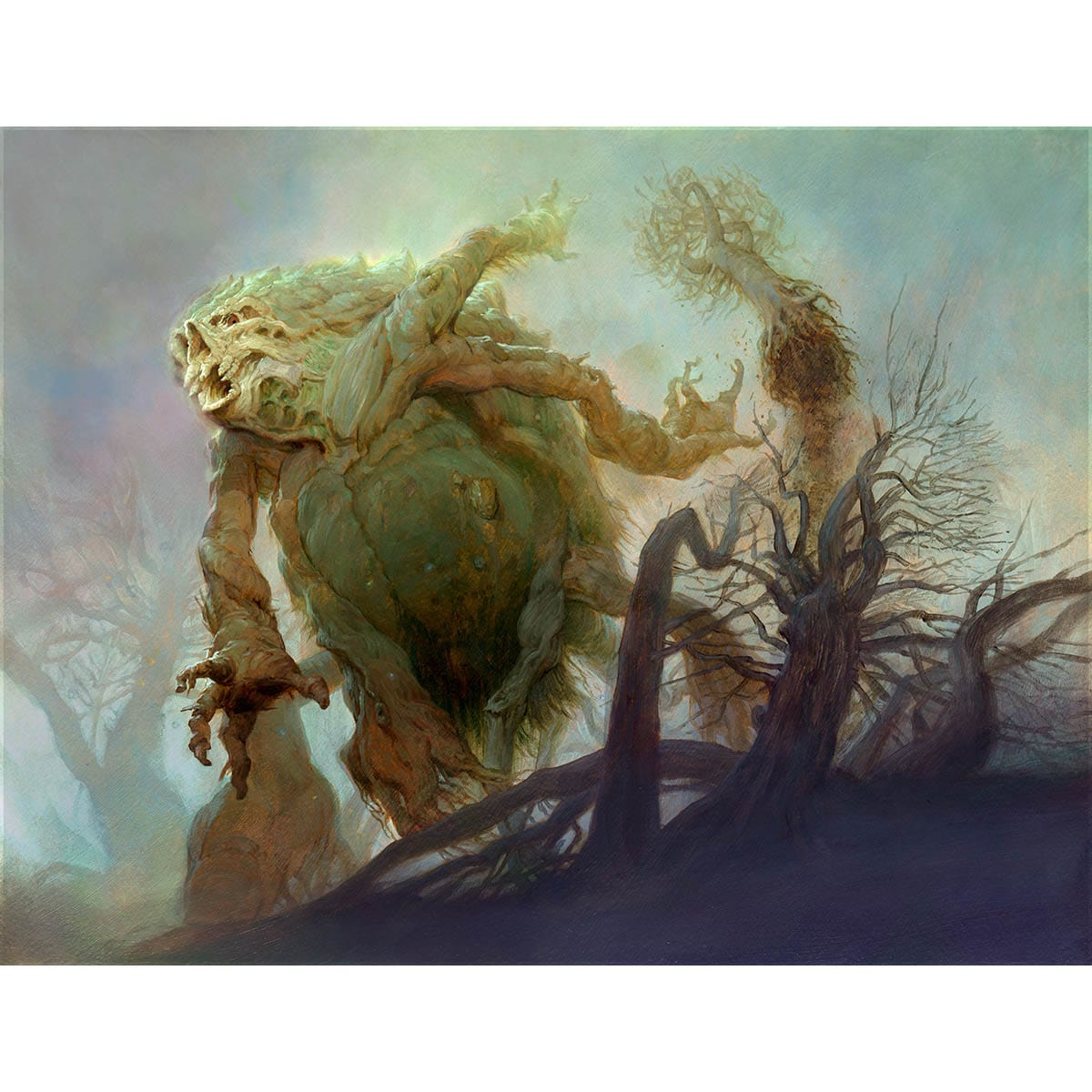 Woodfall Primus Print - Print - Original Magic Art - Accessories for Magic the Gathering and other card games