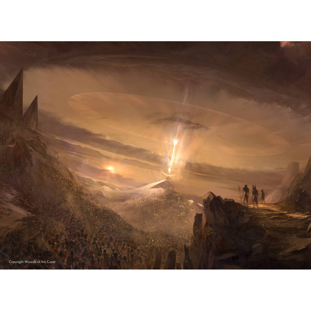 Wrath of God Print - Print - Original Magic Art - Accessories for Magic the Gathering and other card games