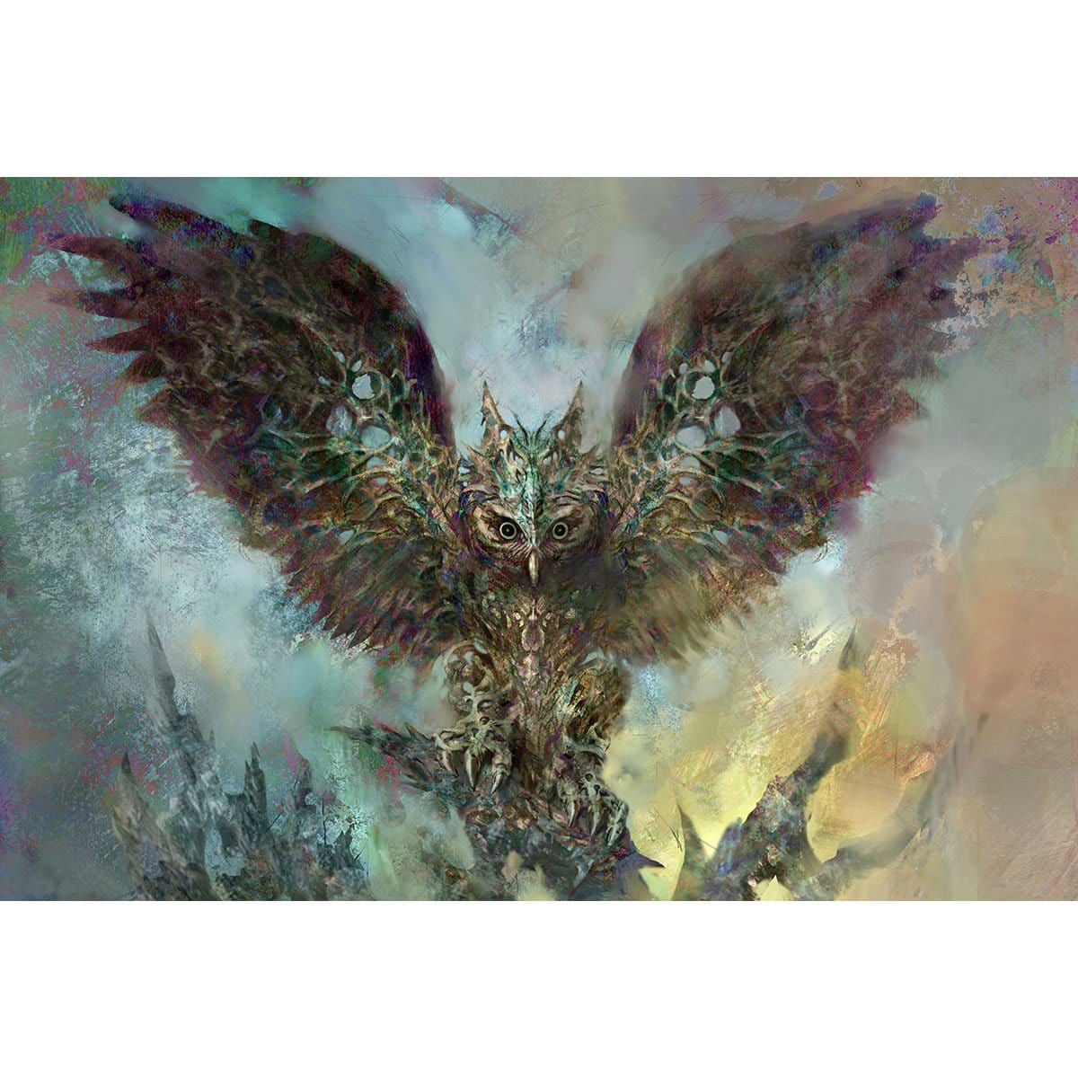 Baleful Strix Print - Print - Original Magic Art - Accessories for Magic the Gathering and other card games