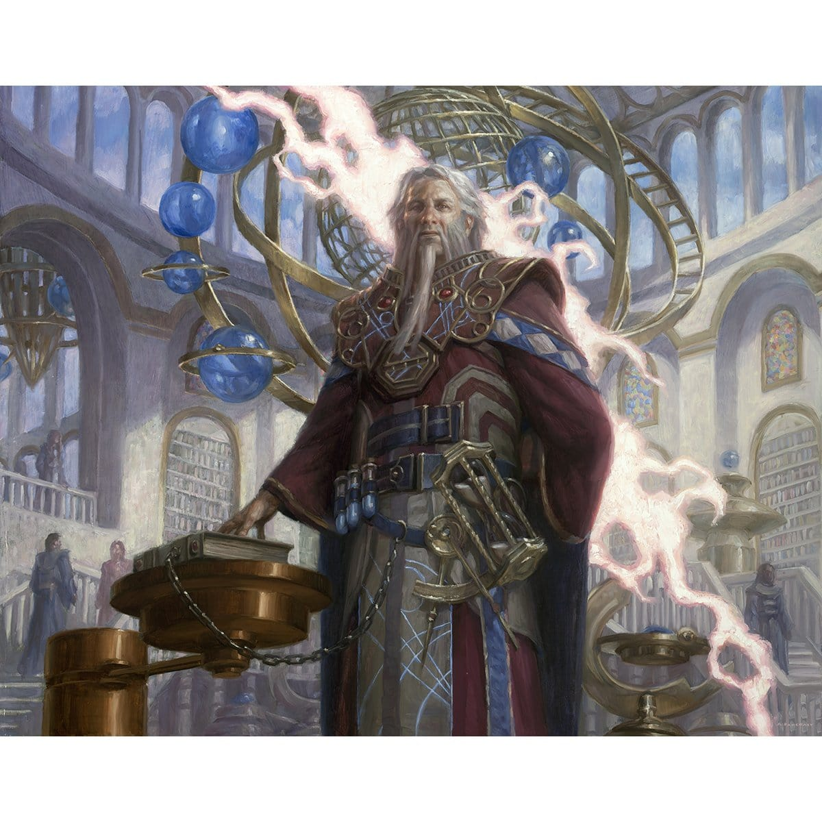 Barrin, Tolarian Archmage Print