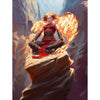 Chandra, Acolyte of Flame Print - Print - Original Magic Art - Accessories for Magic the Gathering and other card games