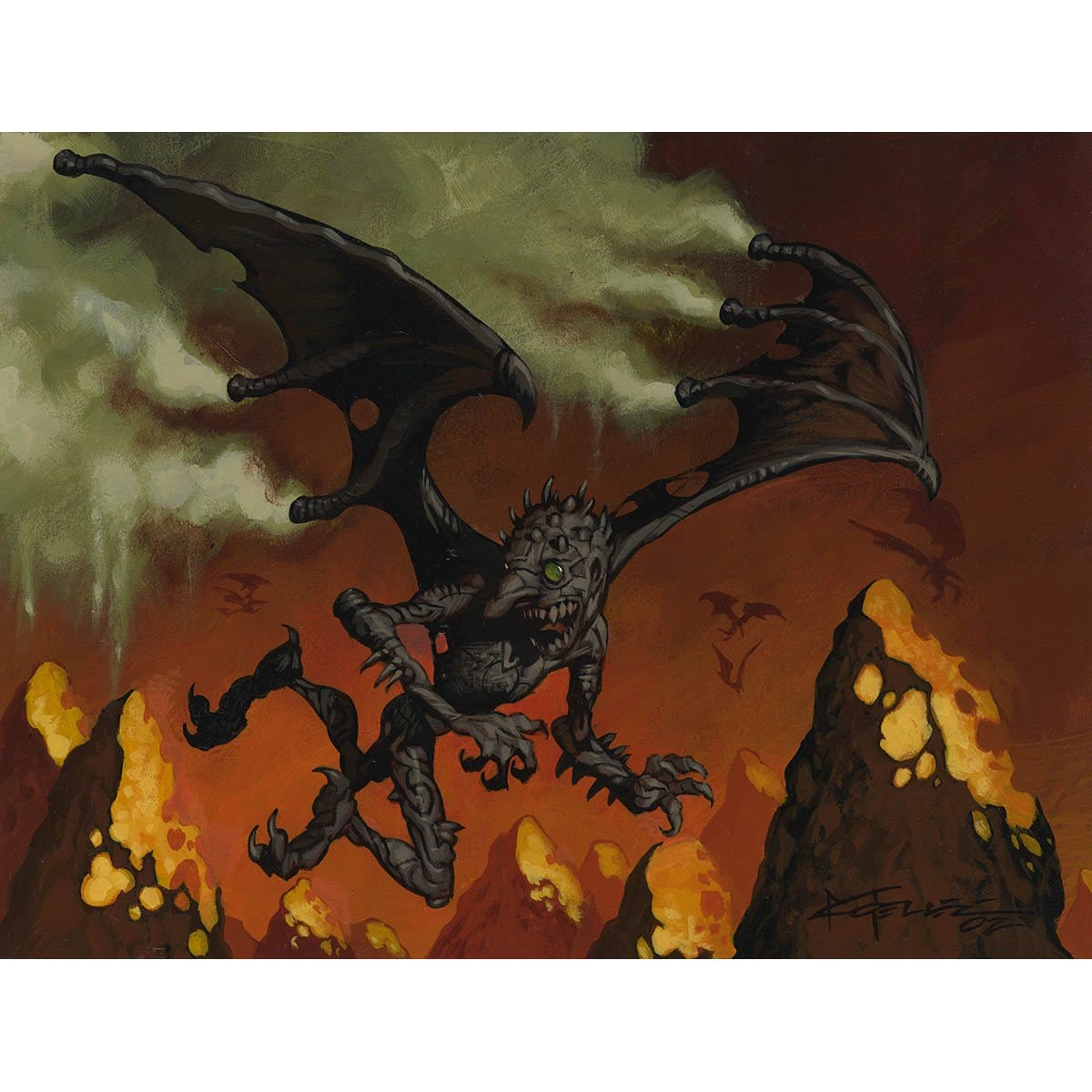 Chimney Imp Print - Print - Original Magic Art - Accessories for Magic the Gathering and other card games