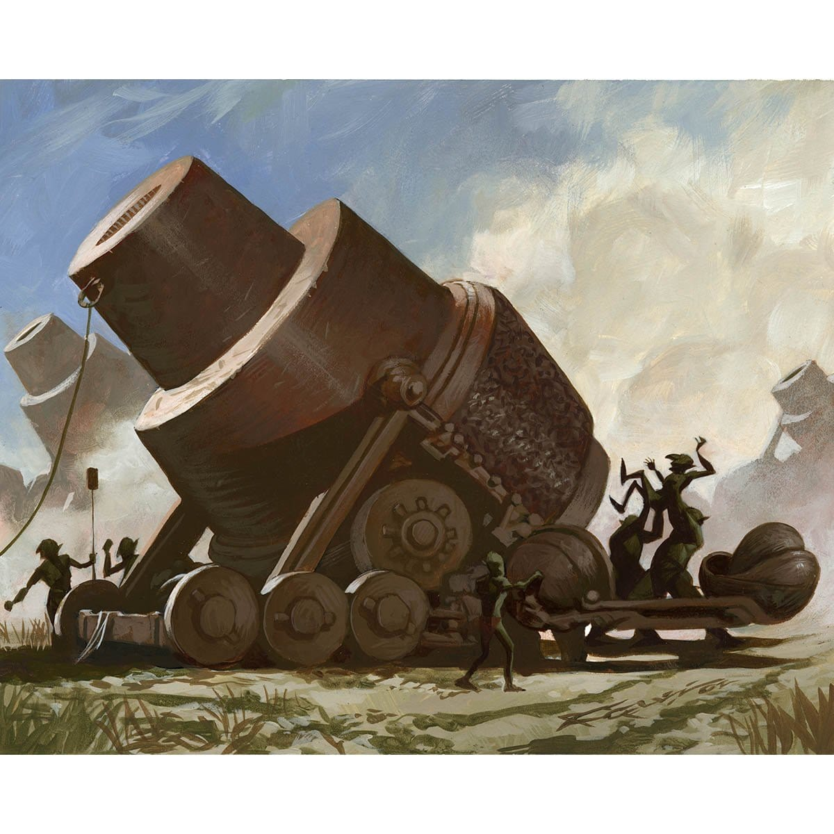 Fodder Cannon Print - Print - Original Magic Art - Accessories for Magic the Gathering and other card games