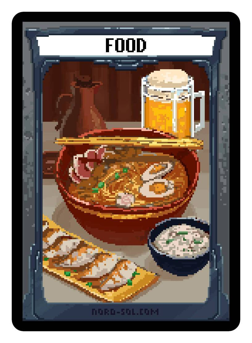 Food Token by Irina Nordsol