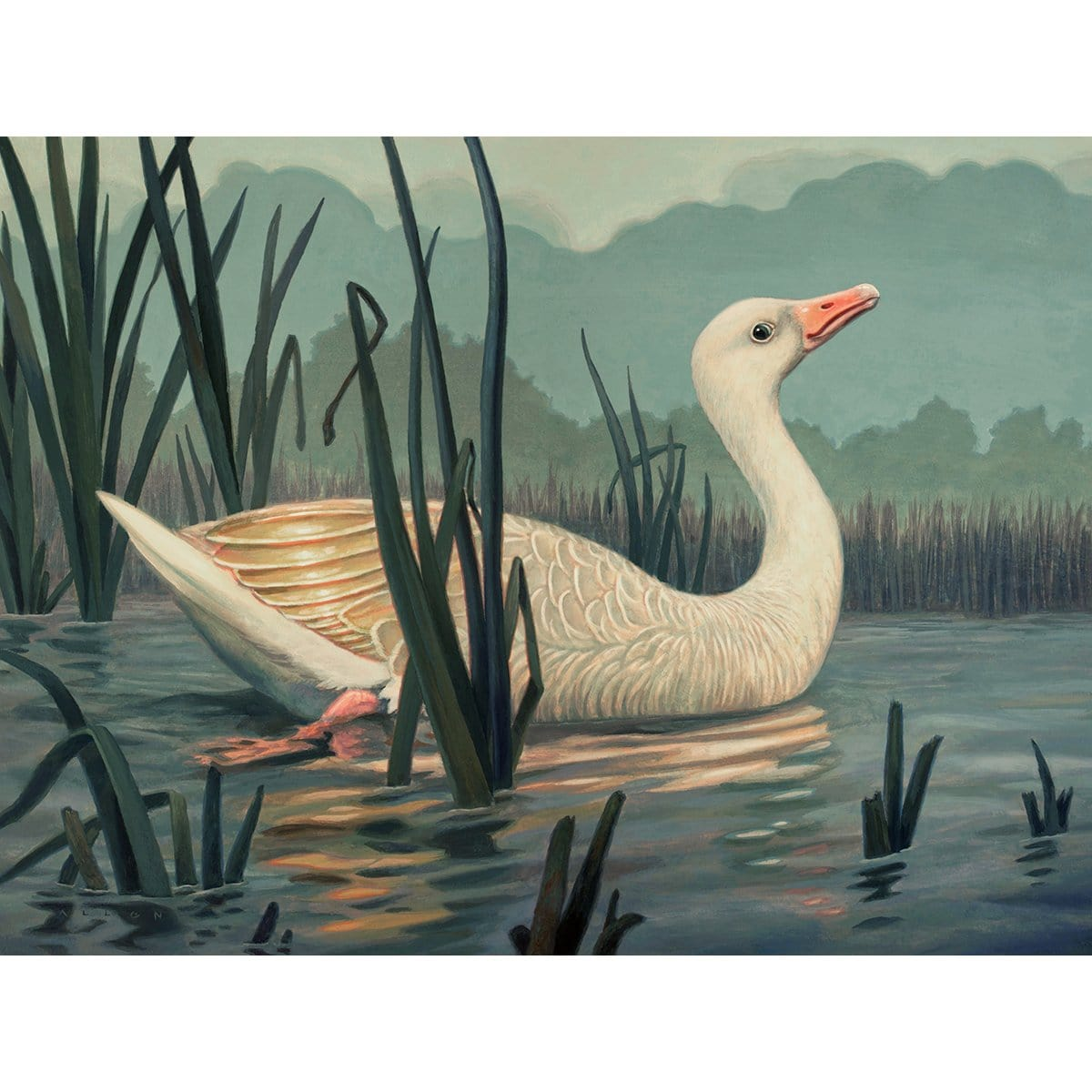 Gilded Goose Print