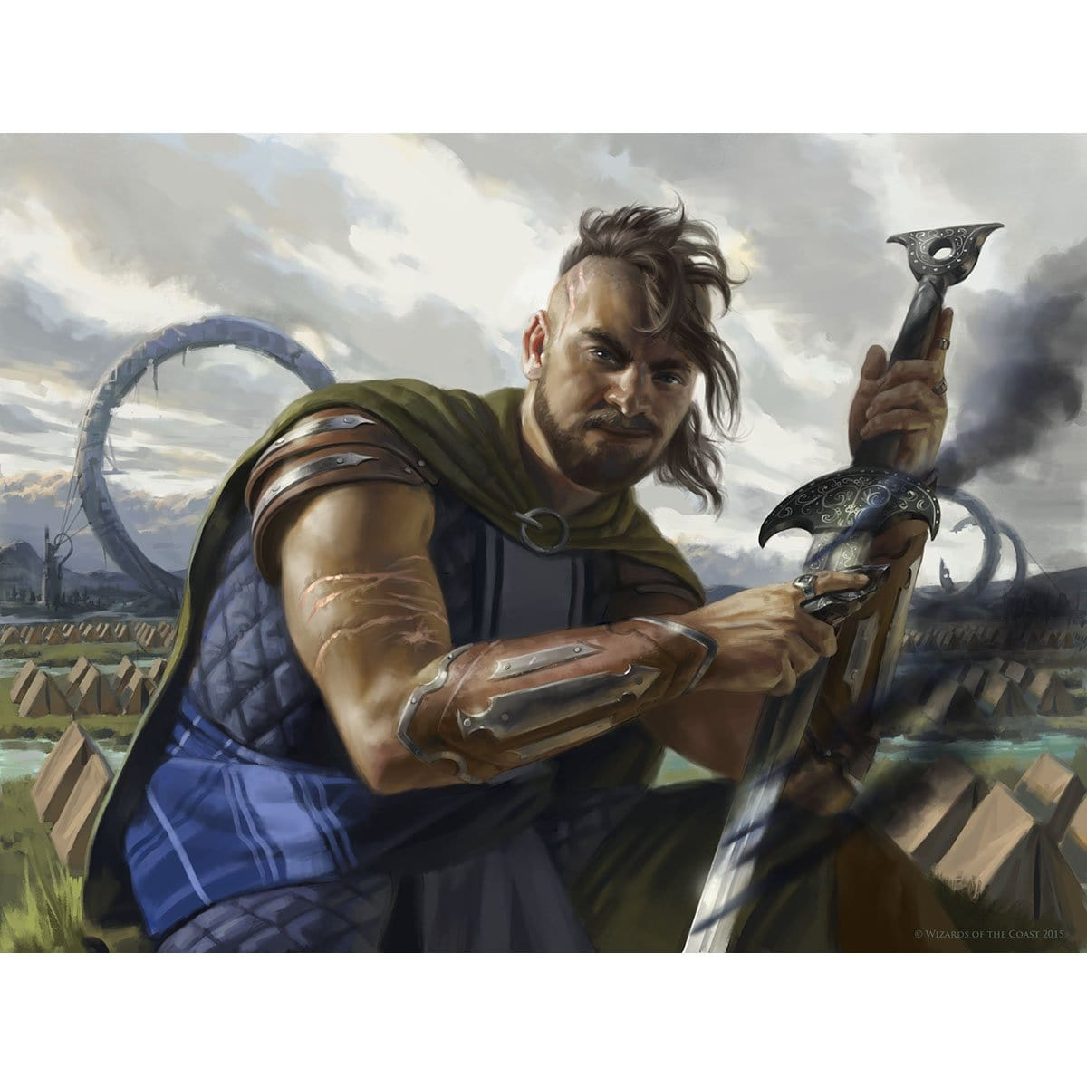 Graveblade Marauder Print - Print - Original Magic Art - Accessories for Magic the Gathering and other card games