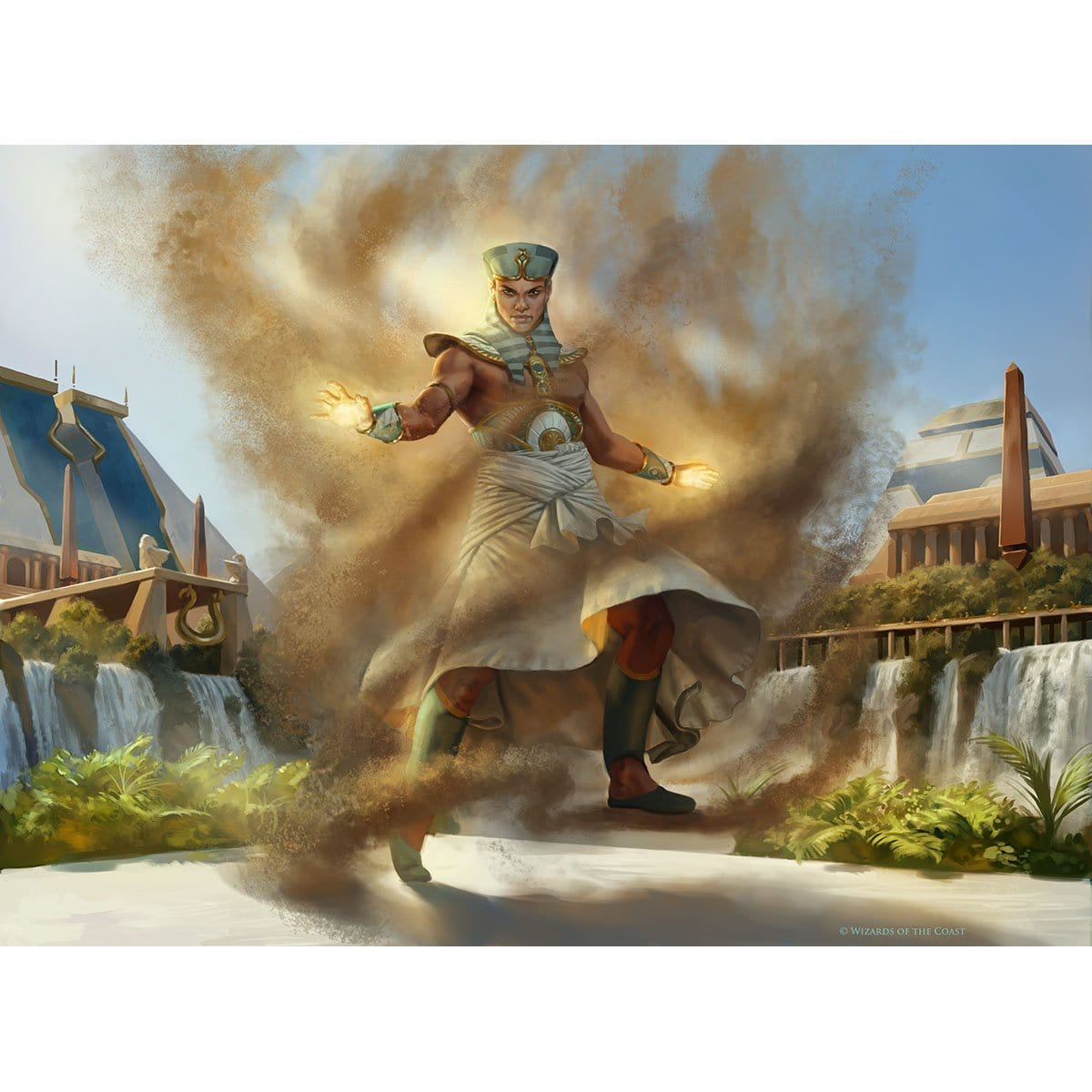 Gust Walker Print - Print - Original Magic Art - Accessories for Magic the Gathering and other card games