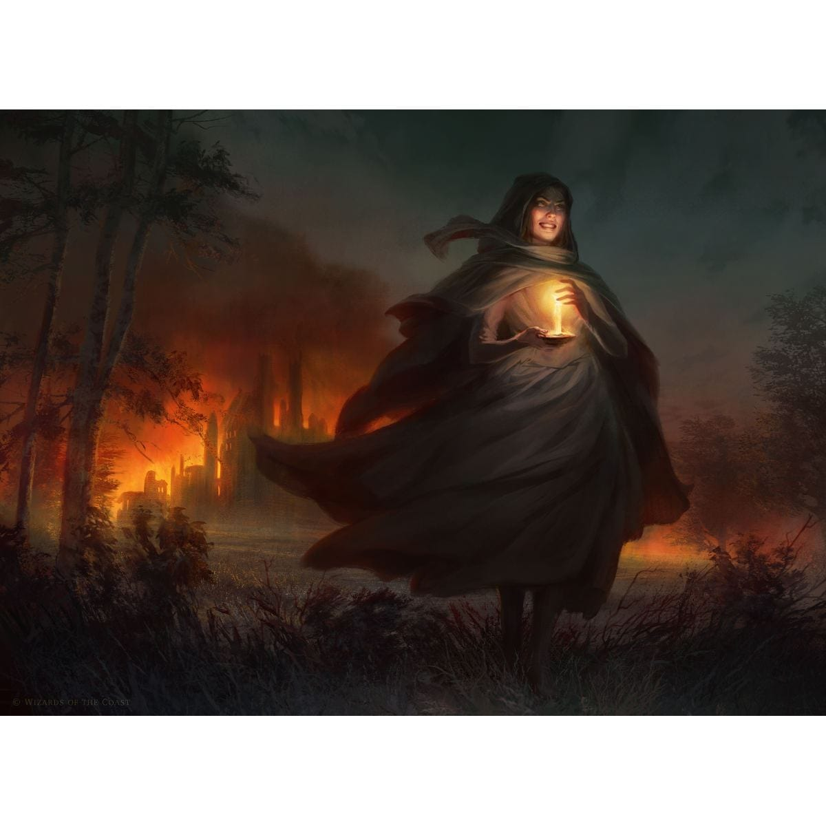 Past in Flames Print - Print - Original Magic Art - Accessories for Magic the Gathering and other card games