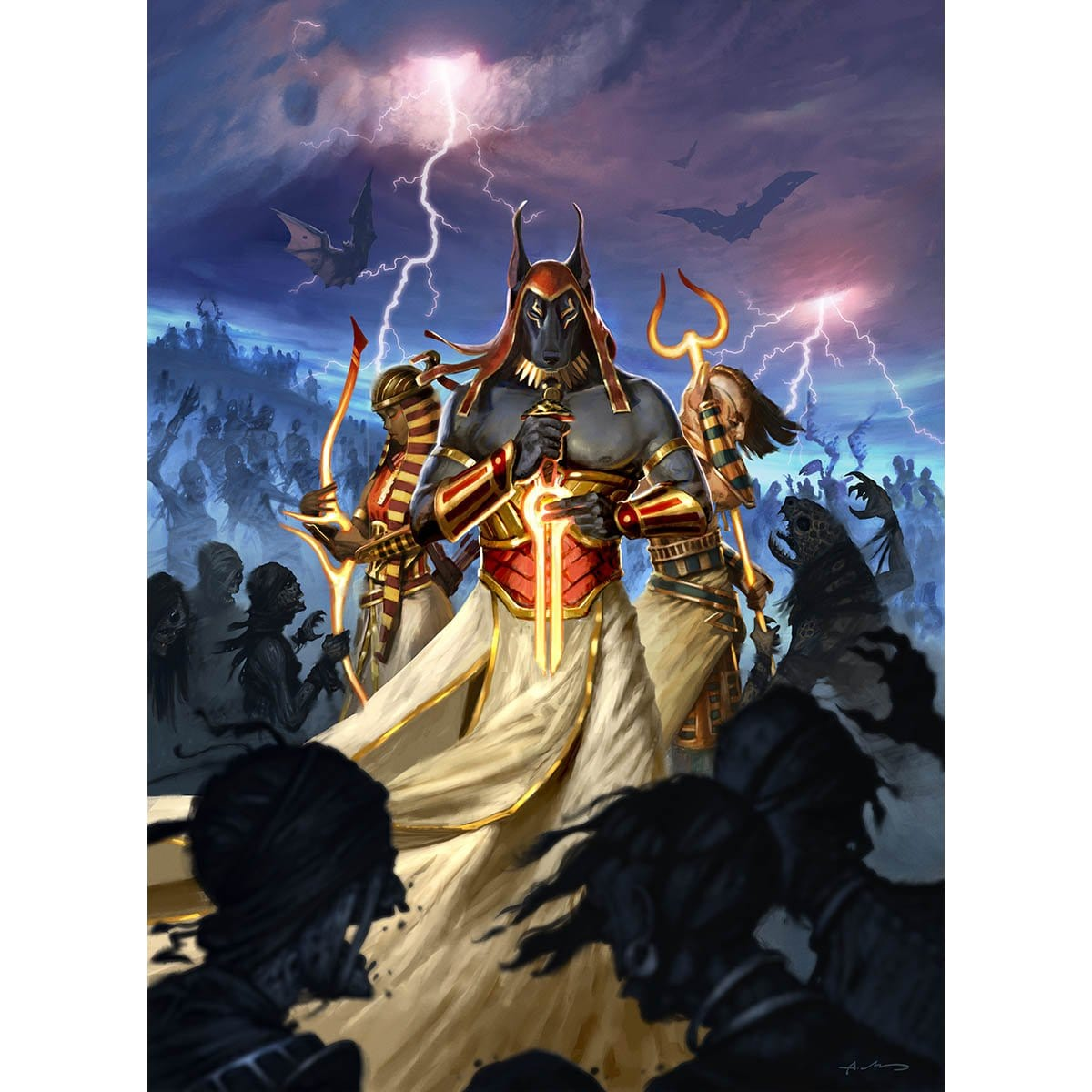 Pay Tribute to Me Print - Print - Original Magic Art - Accessories for Magic the Gathering and other card games