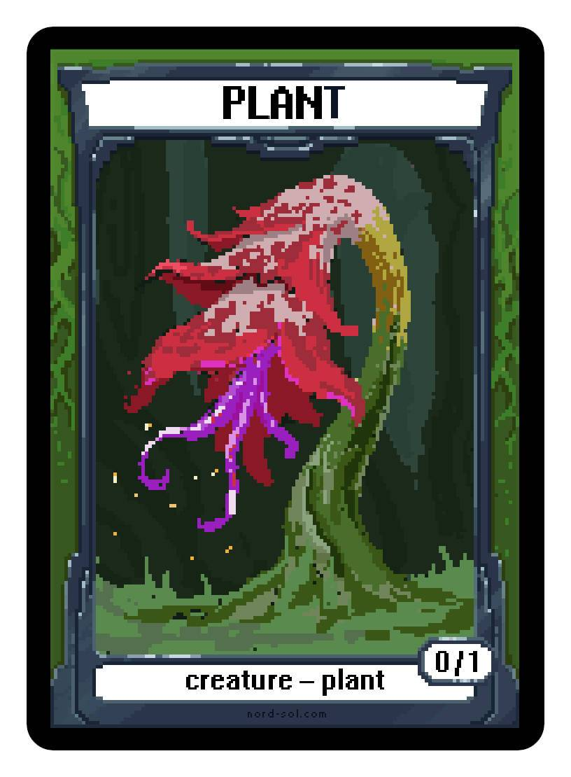 Plant Token (0/1) by Irina Nordsol
