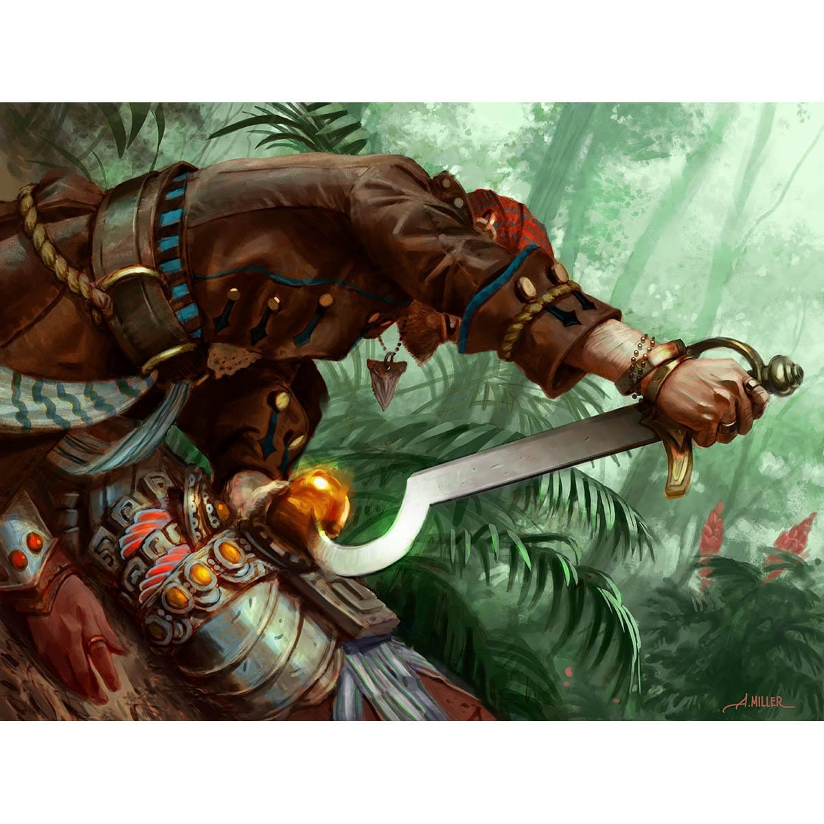Prying Blade Print - Print - Original Magic Art - Accessories for Magic the Gathering and other card games